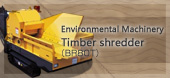 Environmental Machinery Timber shredder (BR80T)